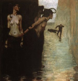 Franz von Stuck-The Murderer